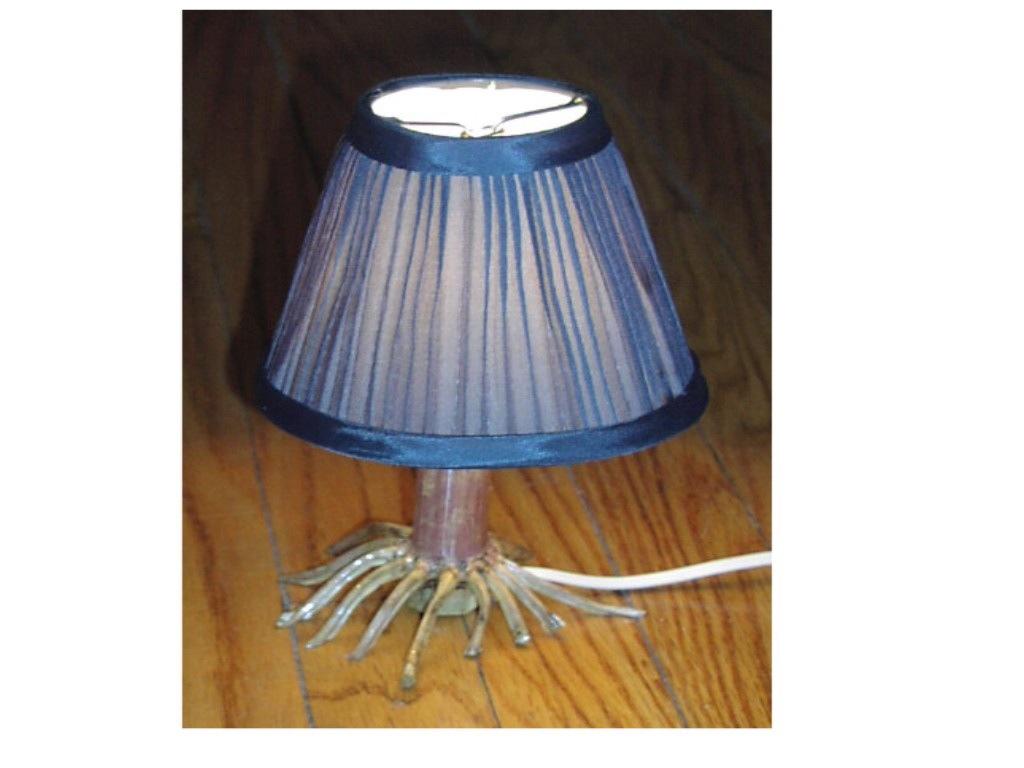 Corn Stalk Lamp