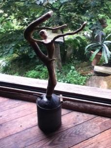 Christopher Pollock Stick Art Sculpture