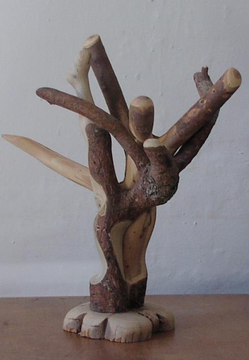 Stick Couple on Cedar CrossSection