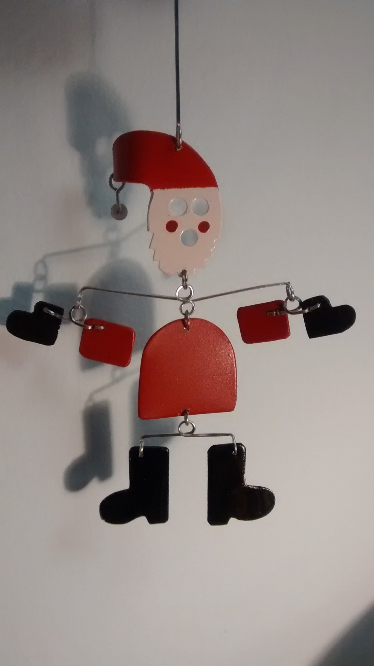 13/14 Years of Christmas Gift Artwork. Dancing Santa