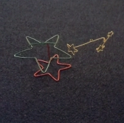 13/14 Years of Christmas Spinning Wire Stars