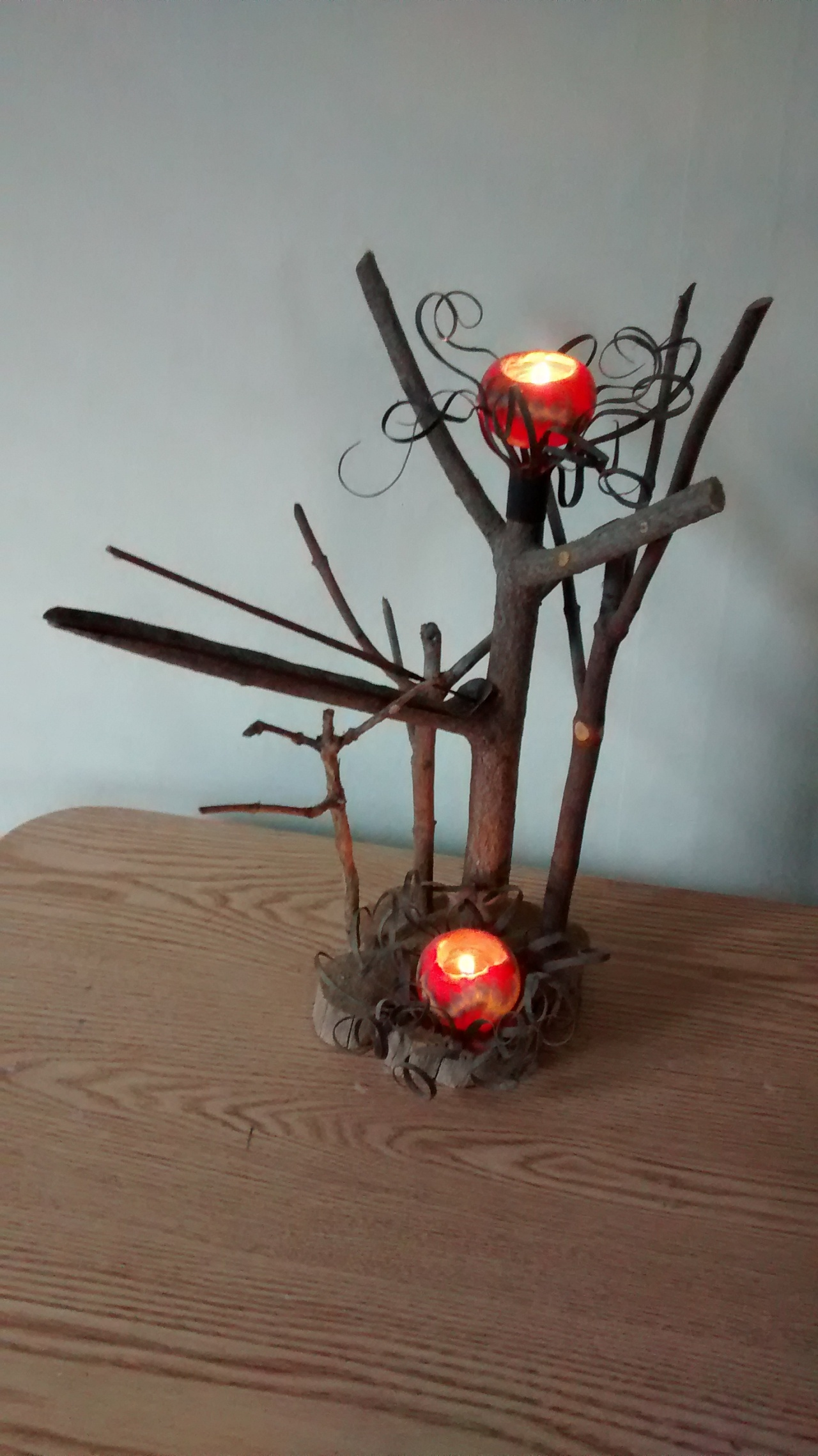 Stick Art Candle Holder Incense Burner