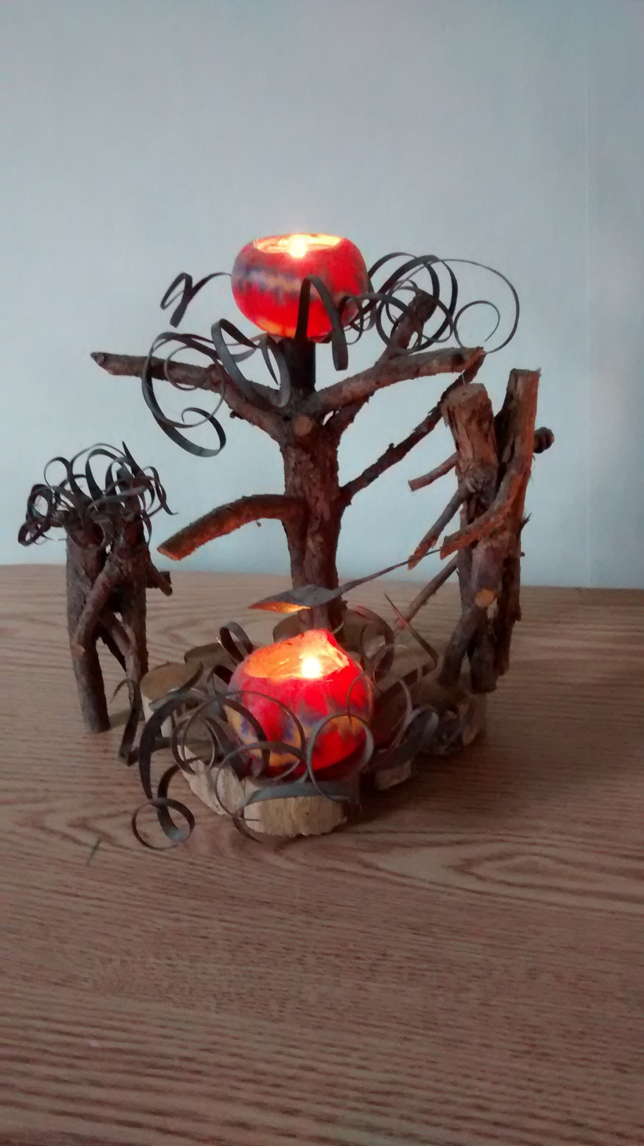 Incense Oil Burner Candle