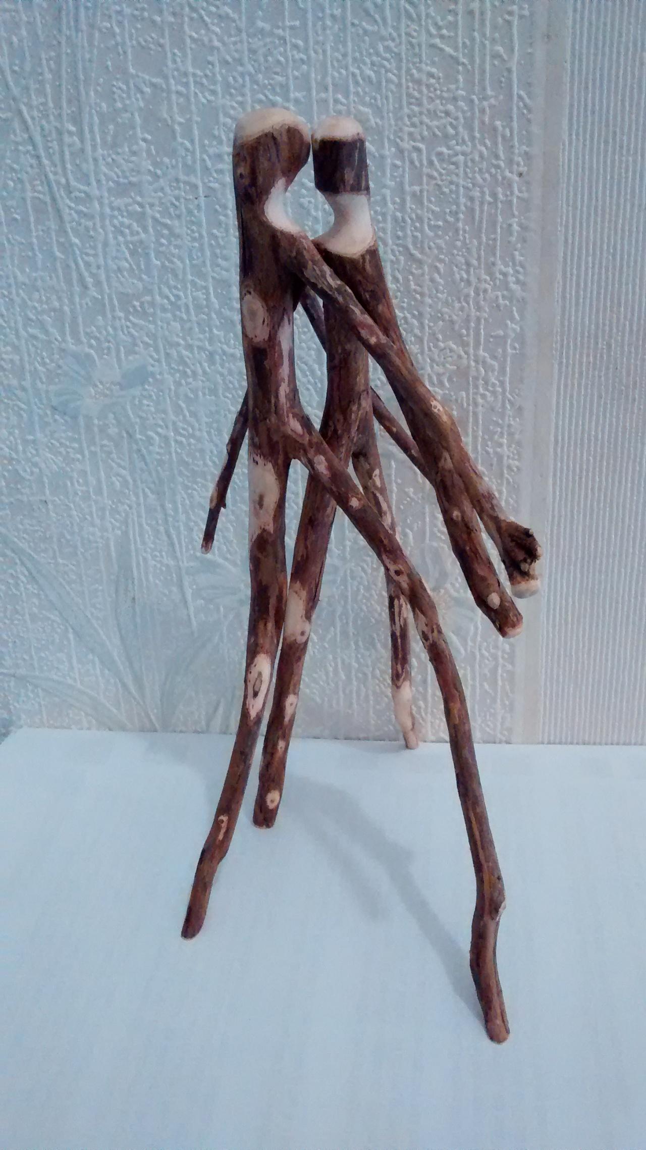 Twig Art Couple#81315