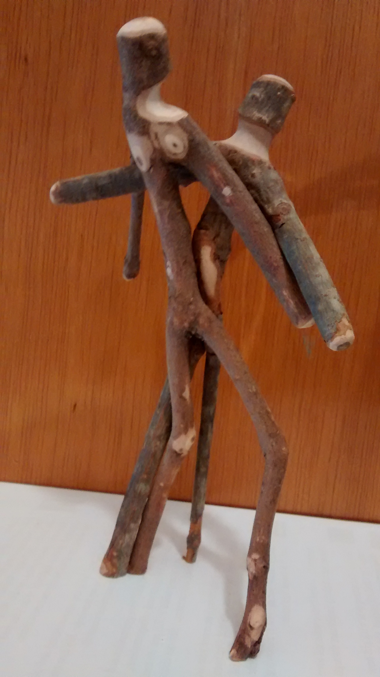 Sticking Together Arts and Crafts. Dancing Stick Couple#81115