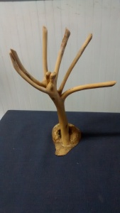Stick art sculpture #8415 by Christopher Pollock