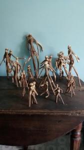 Stick Art Sculptures Christopher Pollock