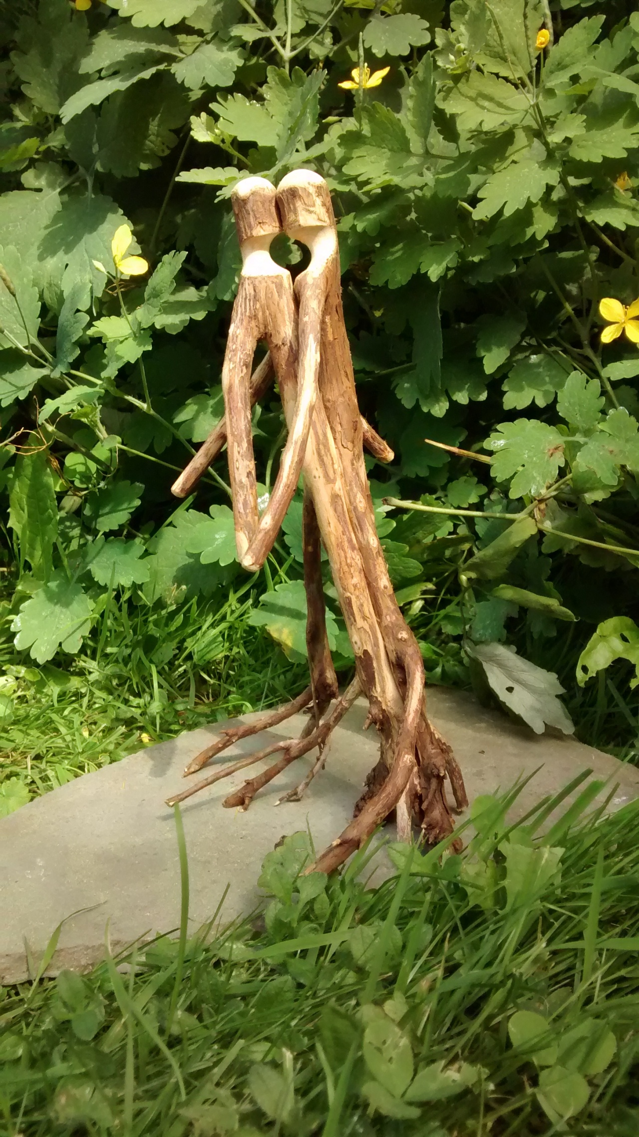 Stick Art August Sculpture #82015