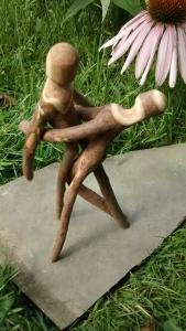 Christopher Pollock Stick Art Sculpture #83015