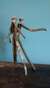 Christopher Pollock Stick Art Sculpture