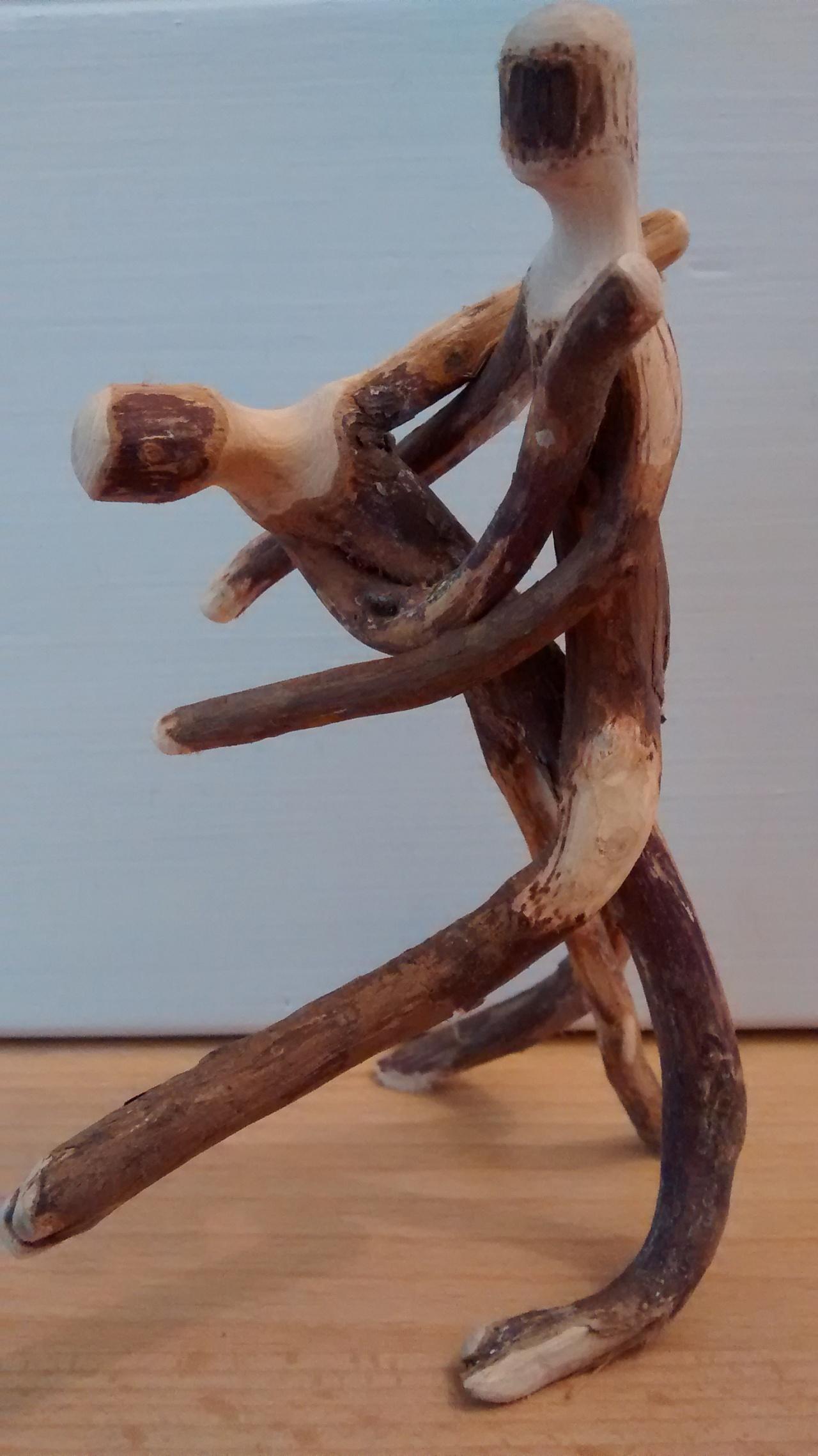 Dancing Wood Sculpture#81615