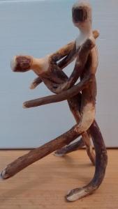Christopher Pollock Stick Art Sculpture #81615