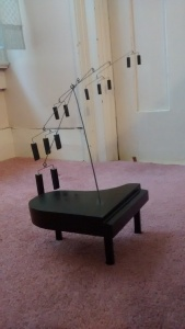 Christopher Pollock Art Piano sculpture